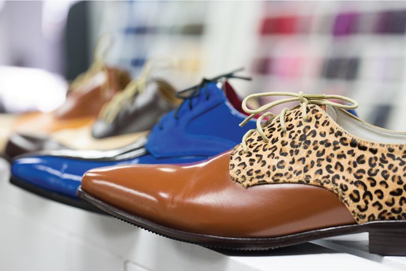 La chaussure pour hommes sur mesure